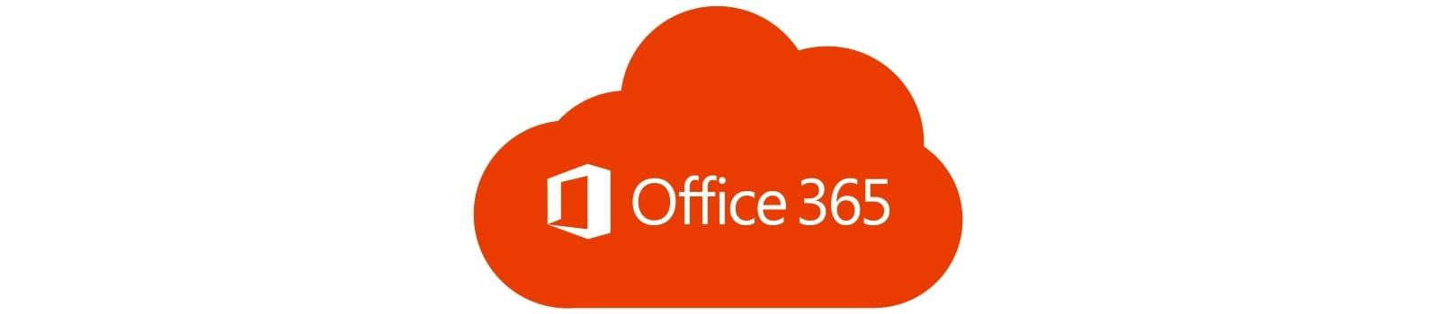 Office 365 cloud logo